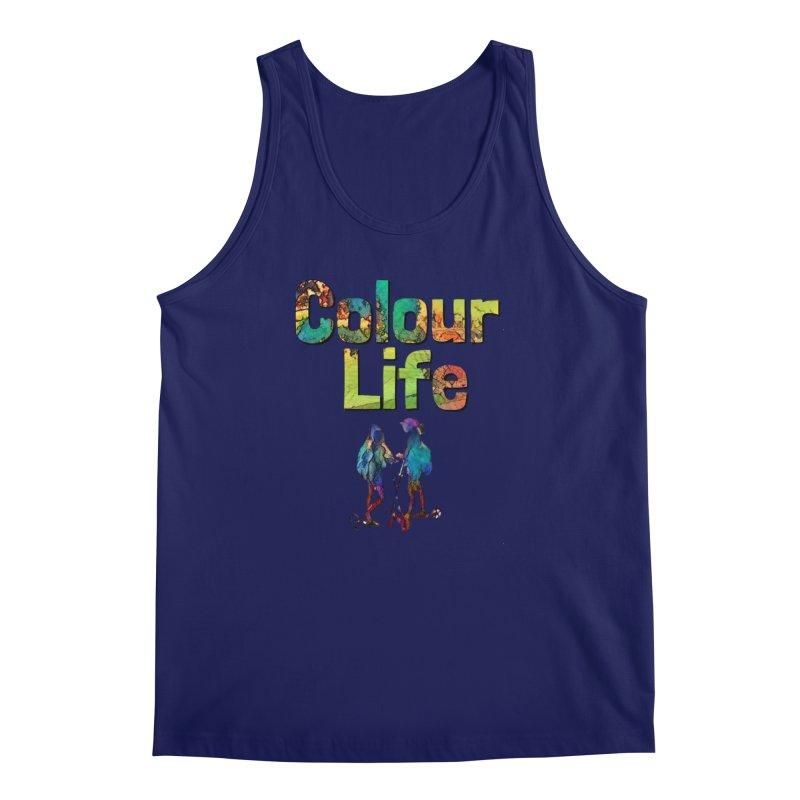 Colour Life Men's Regular Tank by Artdrips's Artist Shop