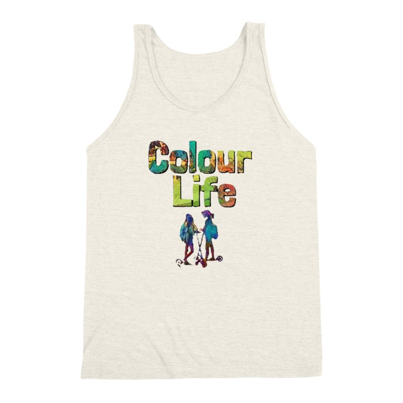Colour Life Men's Triblend Tank by Artdrips's Artist Shop