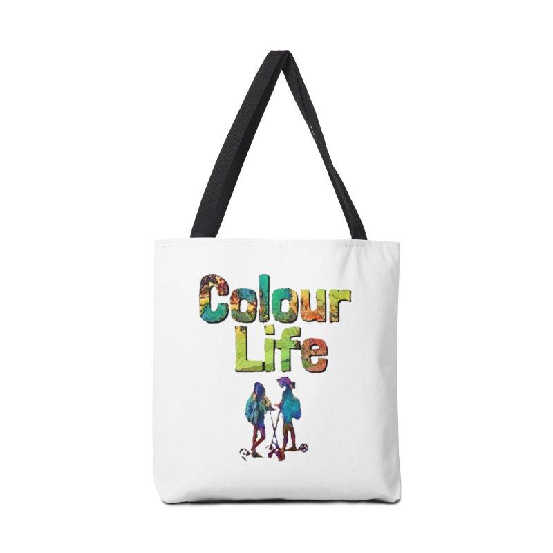 Colour Life Accessories Bag by Artdrips's Artist Shop