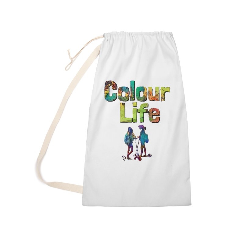 Colour Life Accessories Laundry Bag Bag by Artdrips's Artist Shop