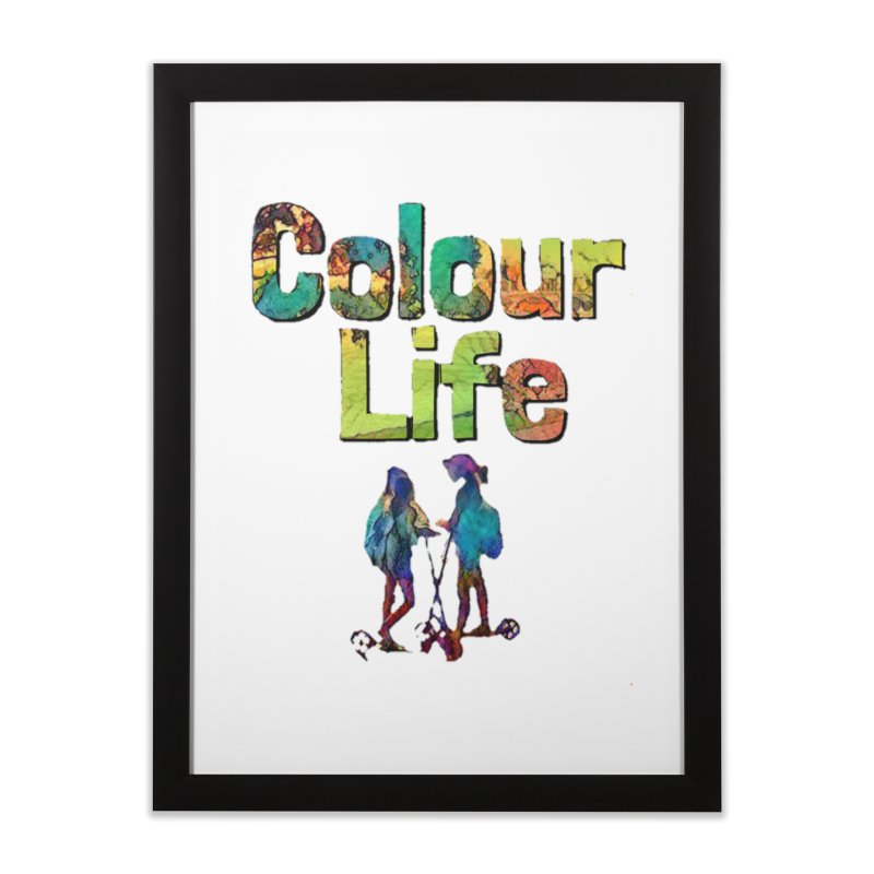 Colour Life Home Framed Fine Art Print by Artdrips's Artist Shop