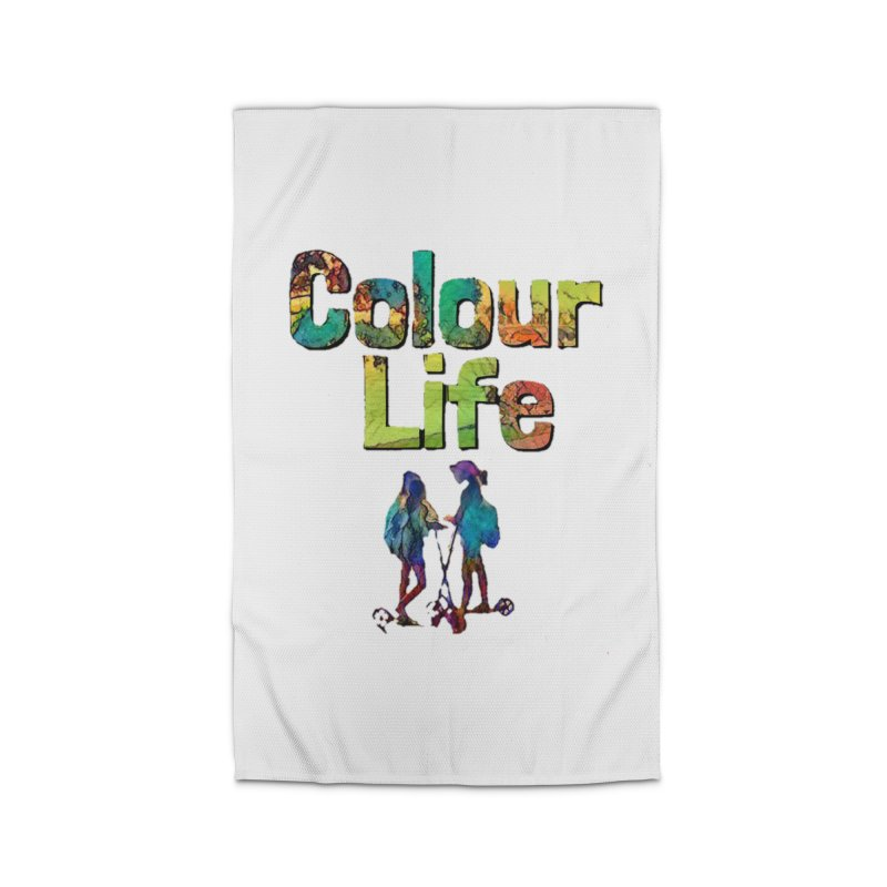 Colour Life Home Rug by Artdrips's Artist Shop