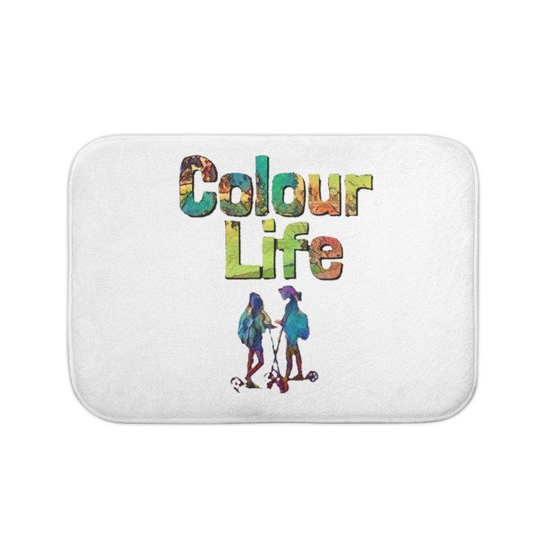Colour Life Home Bath Mat by Artdrips's Artist Shop