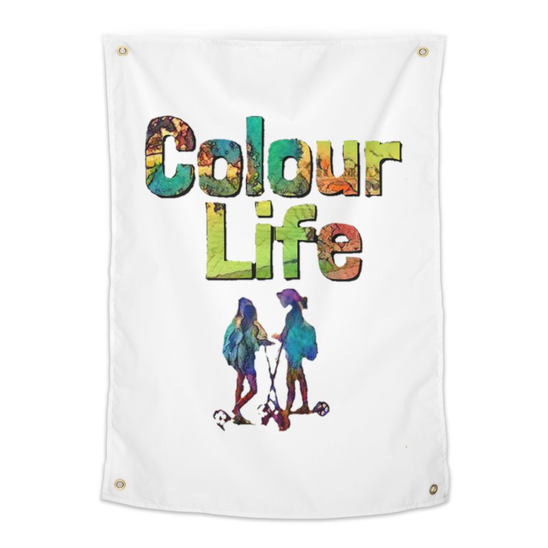Colour Life Home Tapestry by Artdrips's Artist Shop