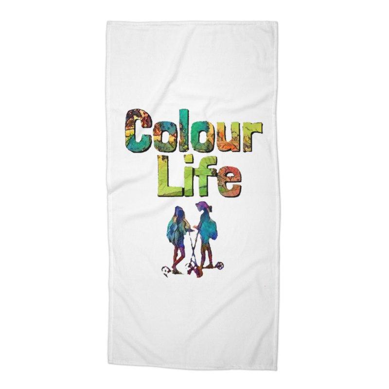 Colour Life Accessories Beach Towel by Artdrips's Artist Shop