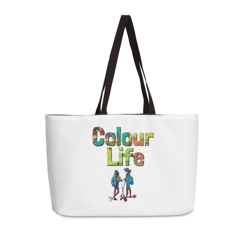 Colour Life Accessories Weekender Bag Bag by Artdrips's Artist Shop