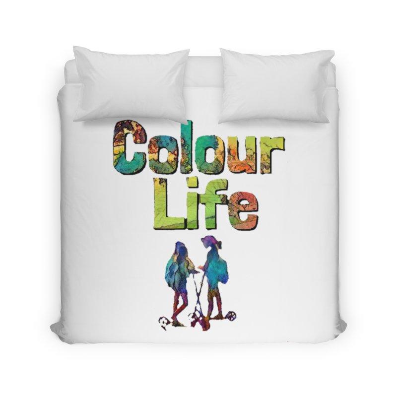 Colour Life Home Duvet by Artdrips's Artist Shop