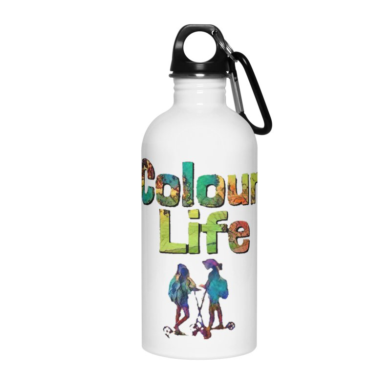 Colour Life Accessories Water Bottle by Artdrips's Artist Shop