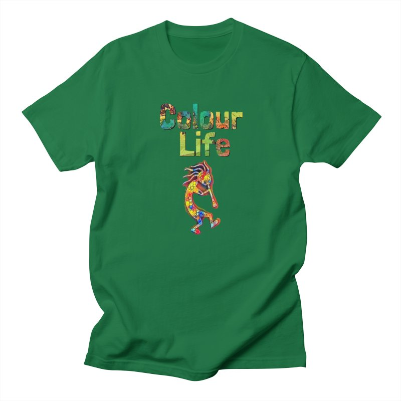 Colour Life with Music Men's Regular T-Shirt by Artdrips's Artist Shop