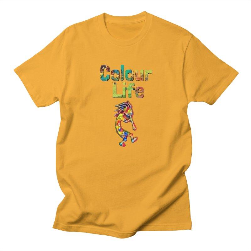 Colour Life with Music Men's Regular T-Shirt by Artdrips's Artist Shop