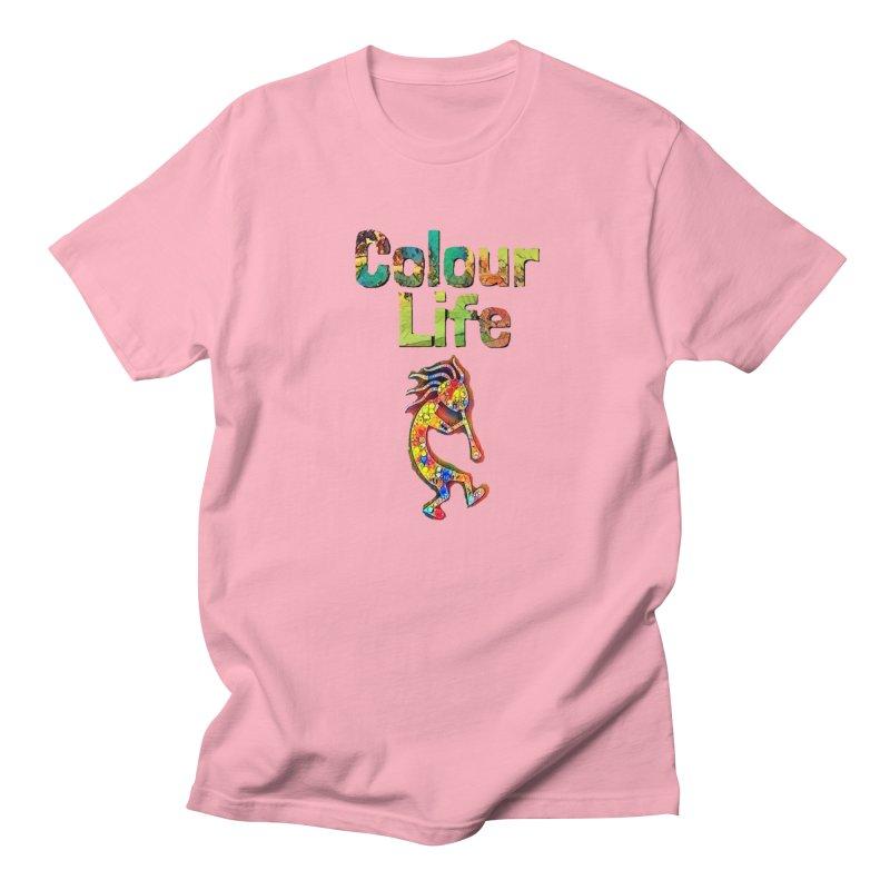 Colour Life with Music Women's Regular Unisex T-Shirt by Artdrips's Artist Shop
