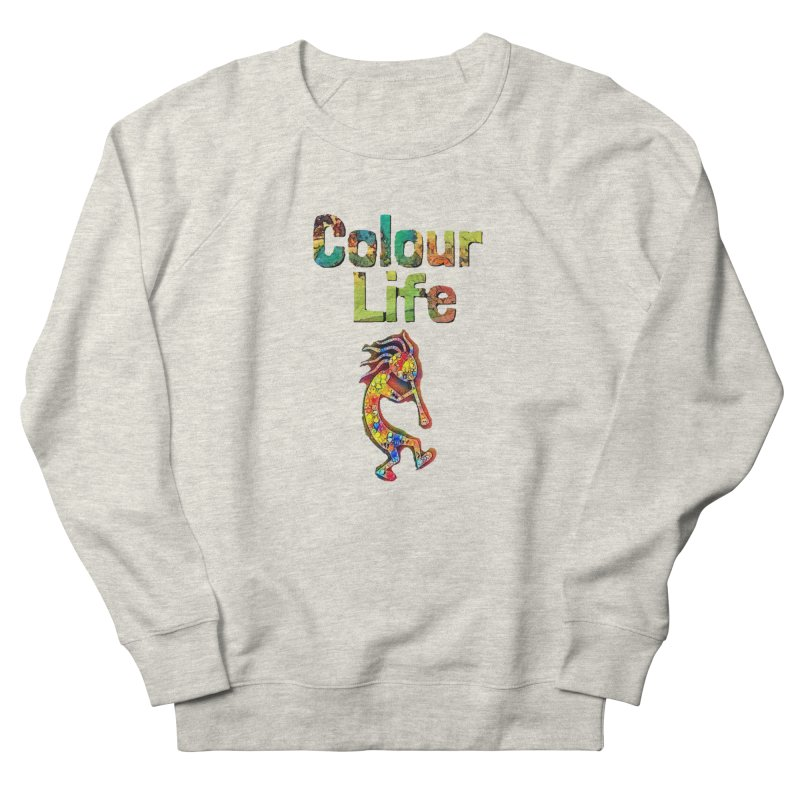 Colour Life with Music Women's French Terry Sweatshirt by Artdrips's Artist Shop