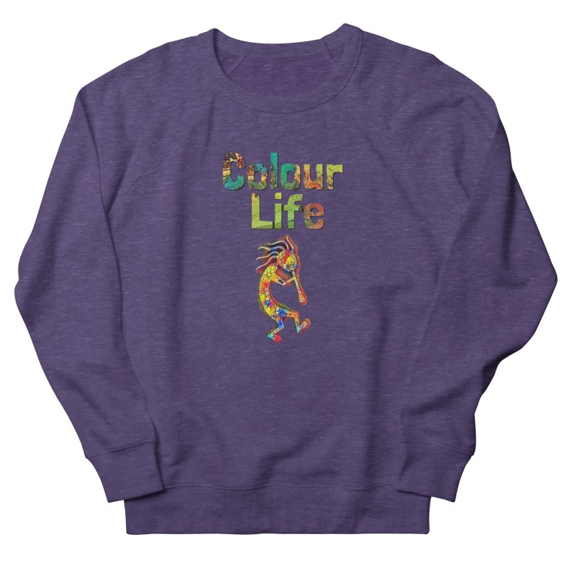 Colour Life with Music Men's French Terry Sweatshirt by Artdrips's Artist Shop