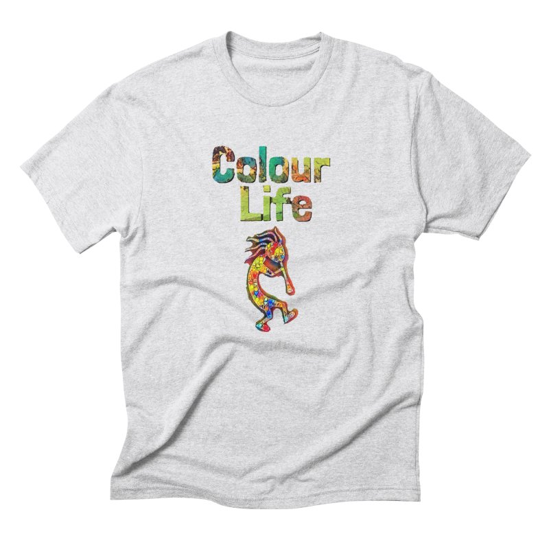 Colour Life with Music Men's Triblend T-Shirt by Artdrips's Artist Shop