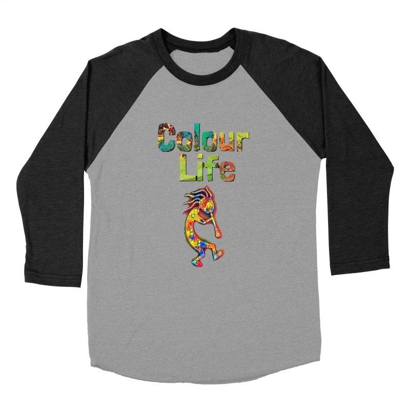 Colour Life with Music Women's Baseball Triblend Longsleeve T-Shirt by Artdrips's Artist Shop