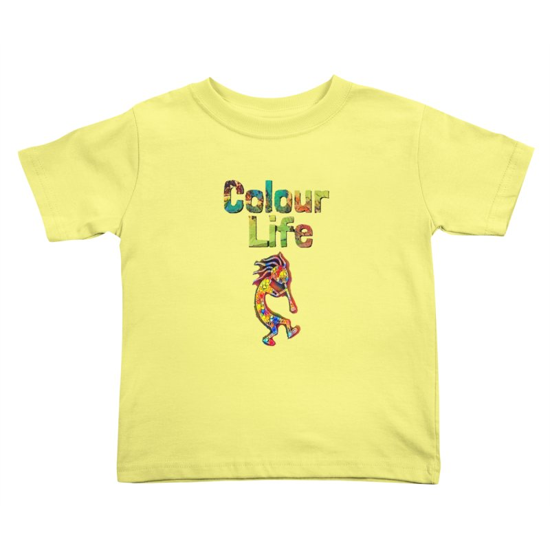 Colour Life with Music Kids Toddler T-Shirt by Artdrips's Artist Shop