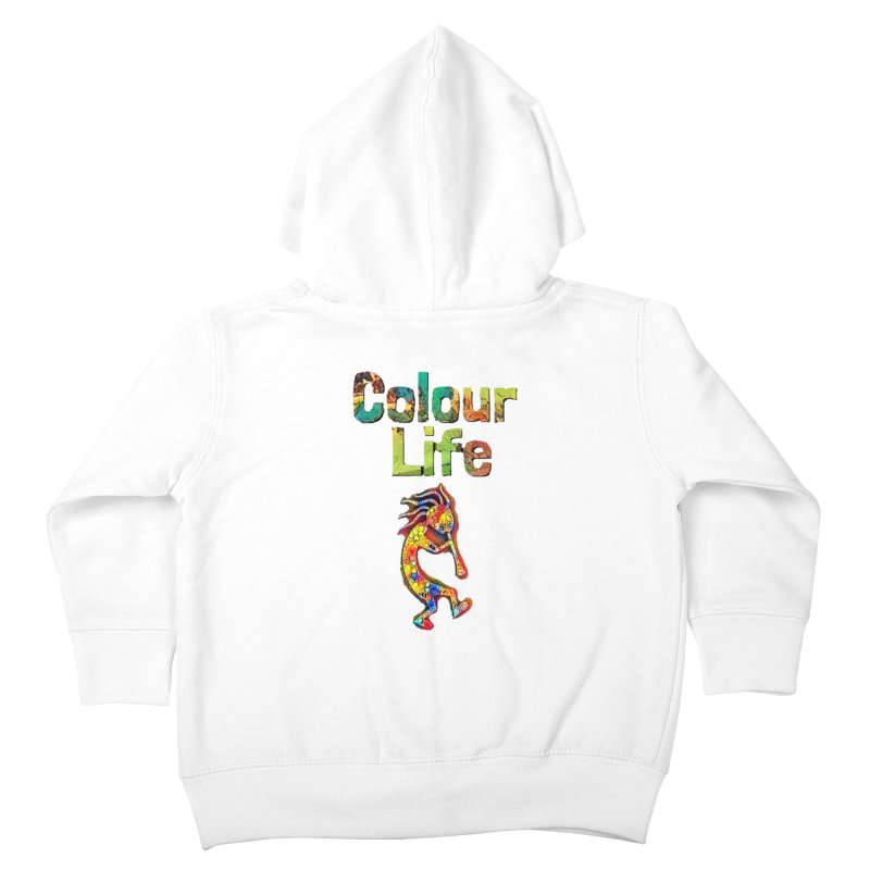 Colour Life with Music Kids Toddler Zip-Up Hoody by Artdrips's Artist Shop