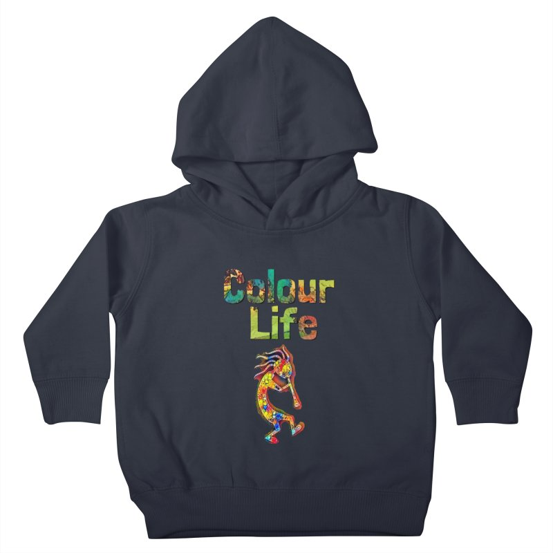 Colour Life with Music Kids Toddler Pullover Hoody by Artdrips's Artist Shop