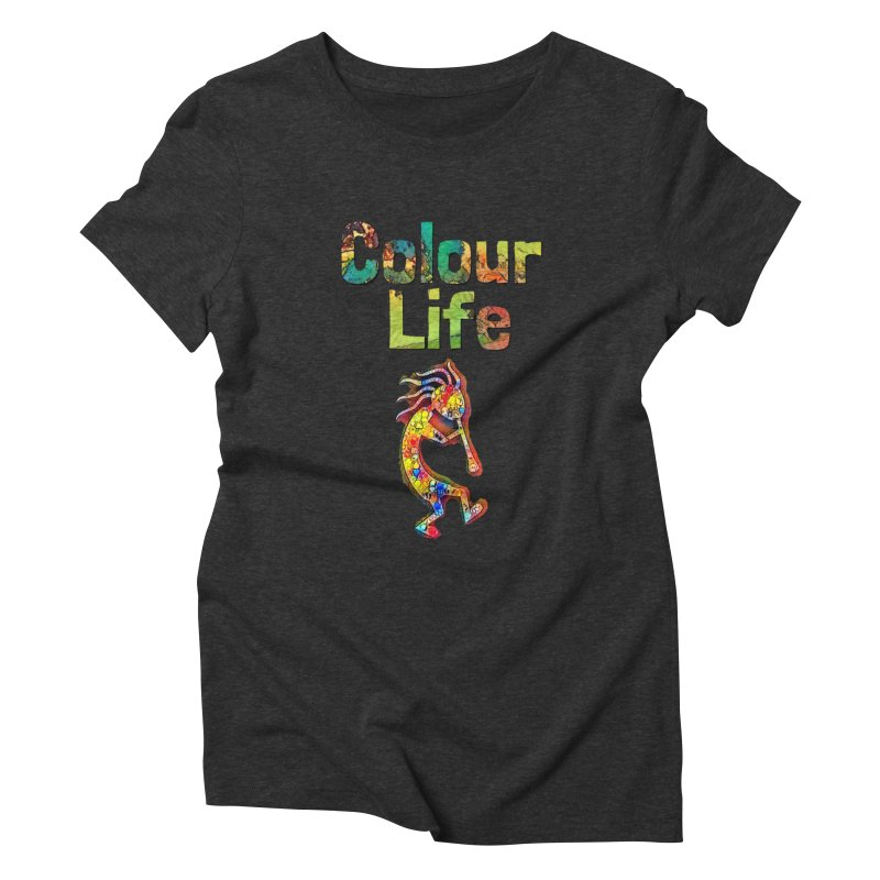 Colour Life with Music Women's Triblend T-Shirt by Artdrips's Artist Shop