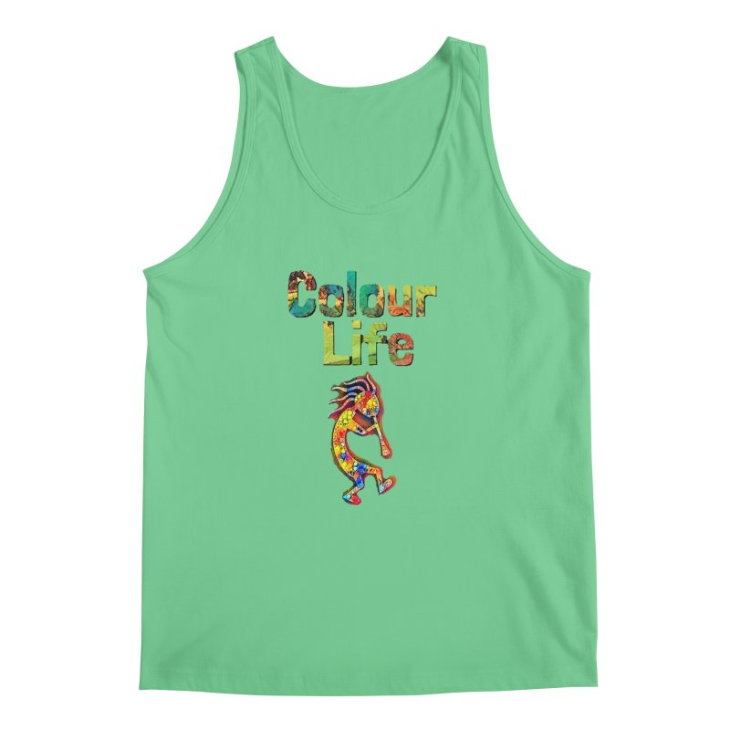 Colour Life with Music Men's Regular Tank by Artdrips's Artist Shop