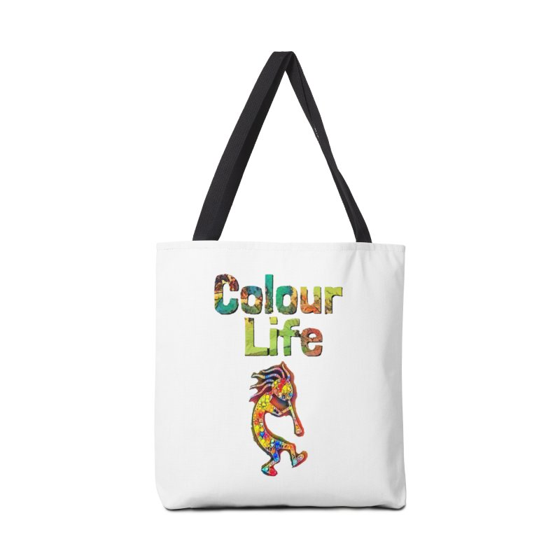 Colour Life with Music Accessories Bag by Artdrips's Artist Shop