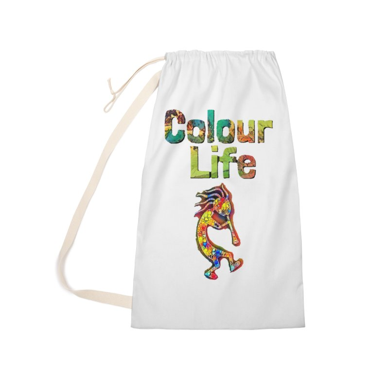 Colour Life with Music Accessories Laundry Bag Bag by Artdrips's Artist Shop