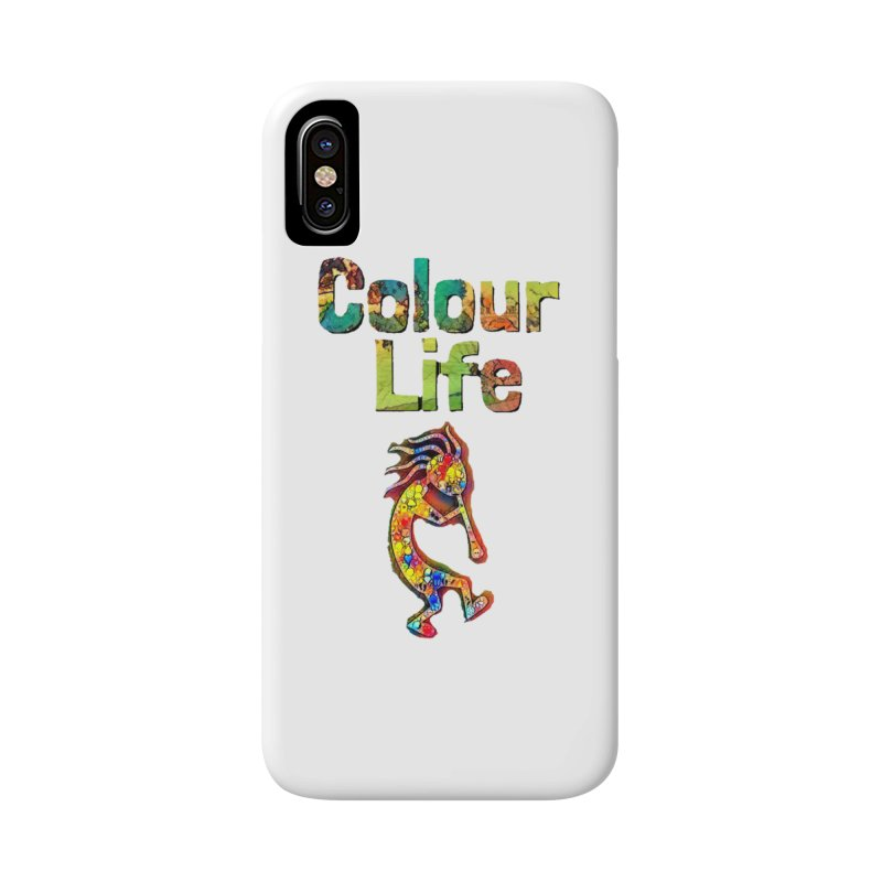 Colour Life with Music Accessories Phone Case by Artdrips's Artist Shop