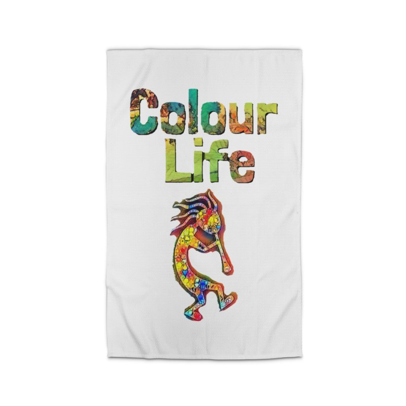 Colour Life with Music Home Rug by Artdrips's Artist Shop
