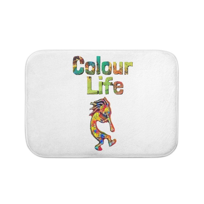Colour Life with Music Home Bath Mat by Artdrips's Artist Shop
