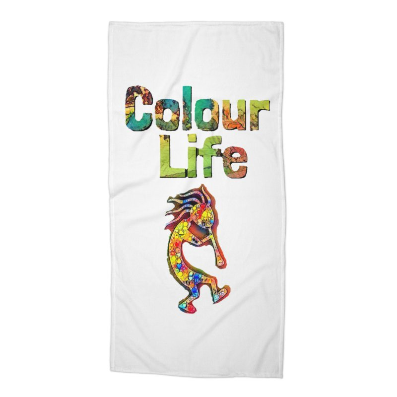 Colour Life with Music Accessories Beach Towel by Artdrips's Artist Shop