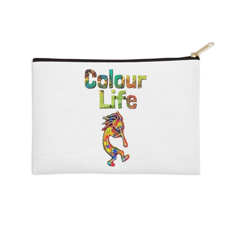 Colour Life with Music Accessories Zip Pouch by Artdrips's Artist Shop