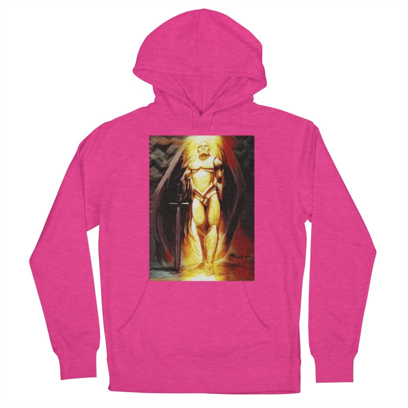Guardian Angel Women's French Terry Pullover Hoody by Artdrips's Artist Shop