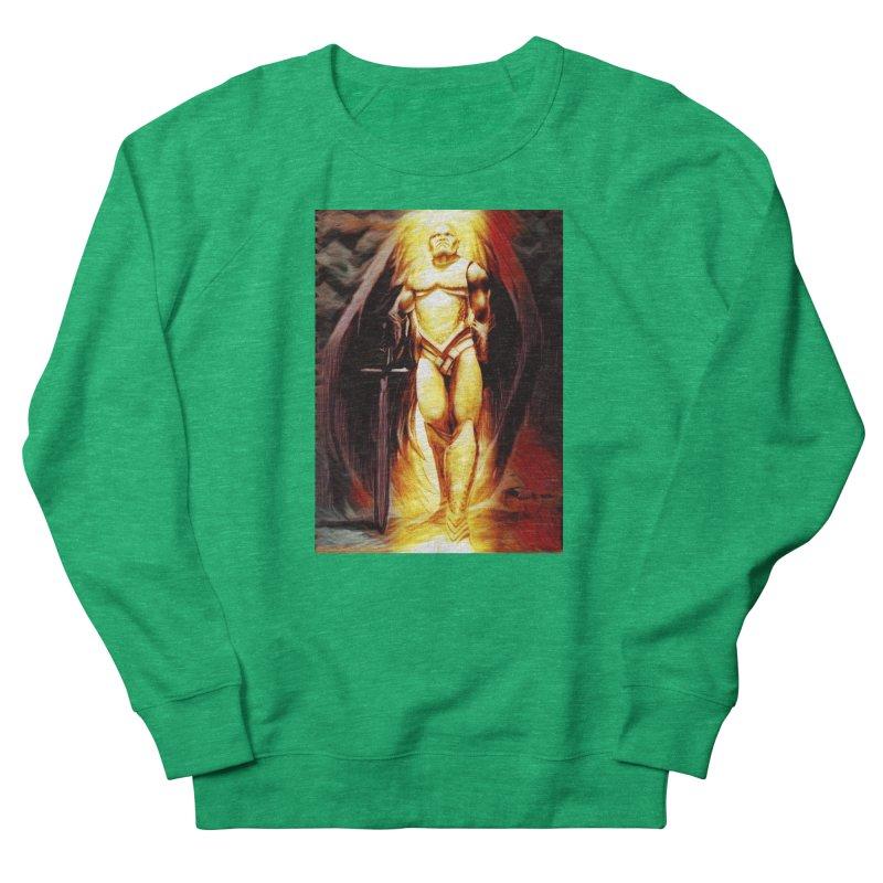 Guardian Angel Women's French Terry Sweatshirt by Artdrips's Artist Shop
