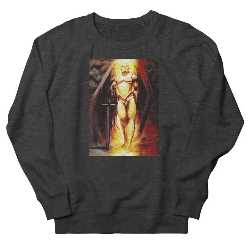 Guardian Angel Men's French Terry Sweatshirt by Artdrips's Artist Shop
