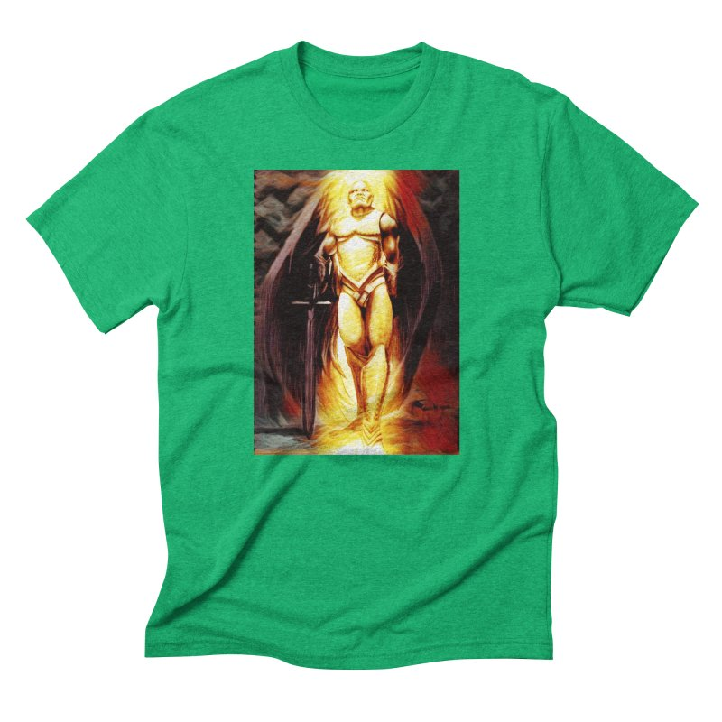 Guardian Angel Men's Triblend T-Shirt by Artdrips's Artist Shop
