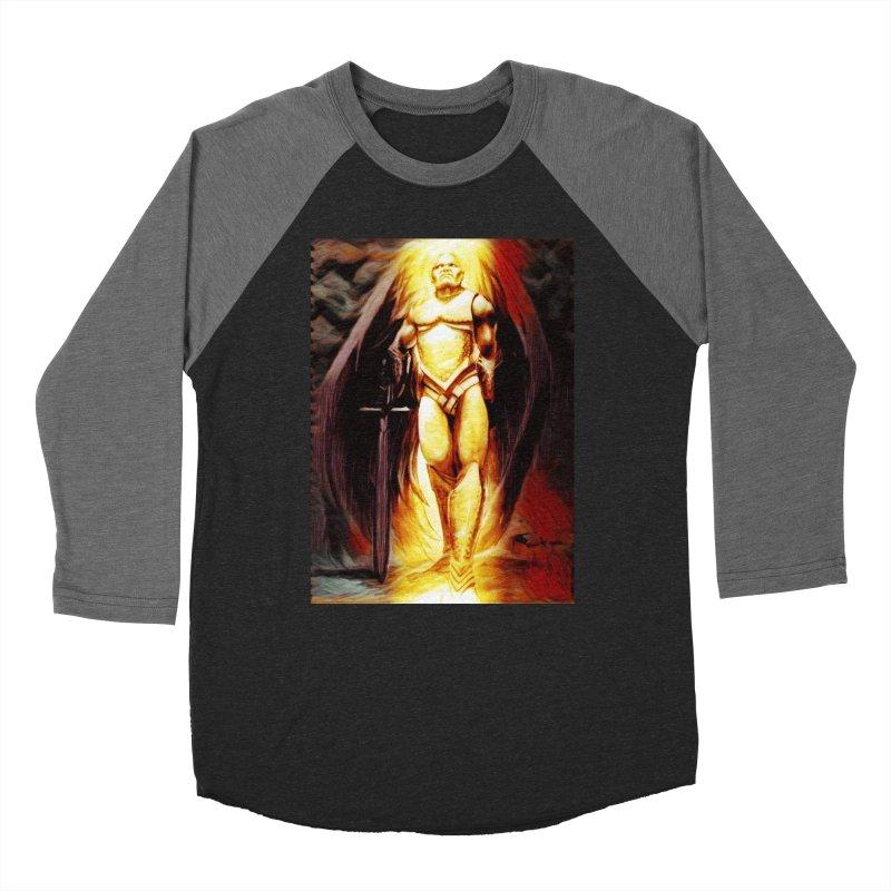 Guardian Angel Women's Baseball Triblend Longsleeve T-Shirt by Artdrips's Artist Shop