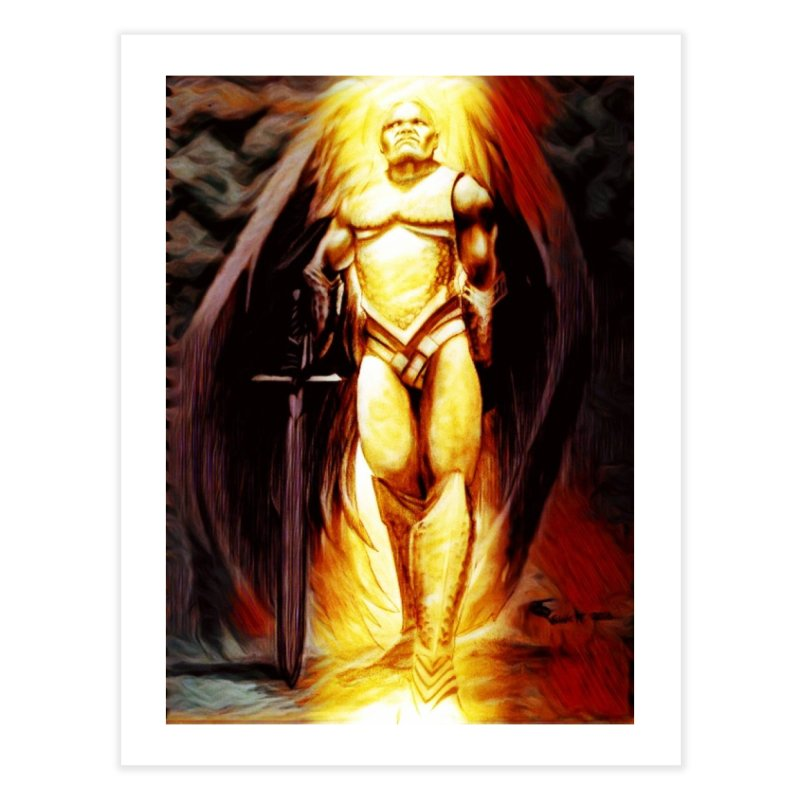 Guardian Angel Home Fine Art Print by Artdrips's Artist Shop