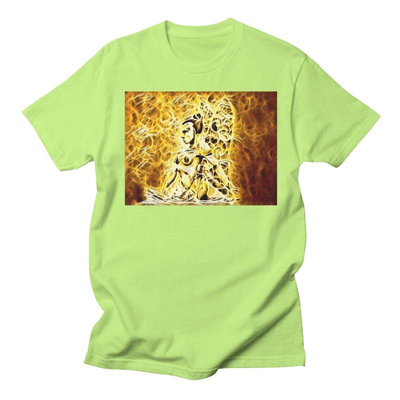 Golden Warrior Fairy Women's Regular Unisex T-Shirt by Artdrips's Artist Shop