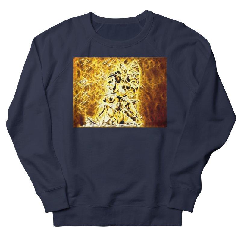 Golden Warrior Fairy Women's French Terry Sweatshirt by Artdrips's Artist Shop
