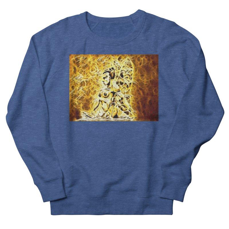 Golden Warrior Fairy Men's French Terry Sweatshirt by Artdrips's Artist Shop