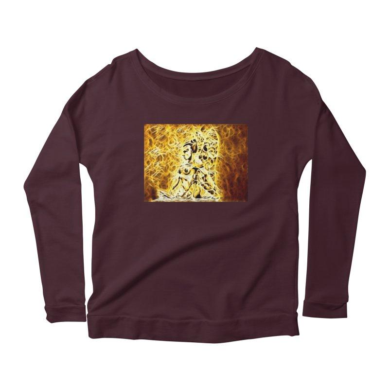 Golden Warrior Fairy Women's Scoop Neck Longsleeve T-Shirt by Artdrips's Artist Shop