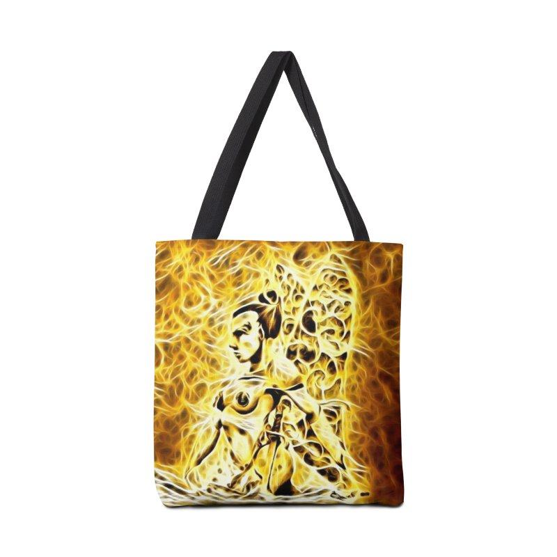 Golden Warrior Fairy Accessories Bag by Artdrips's Artist Shop