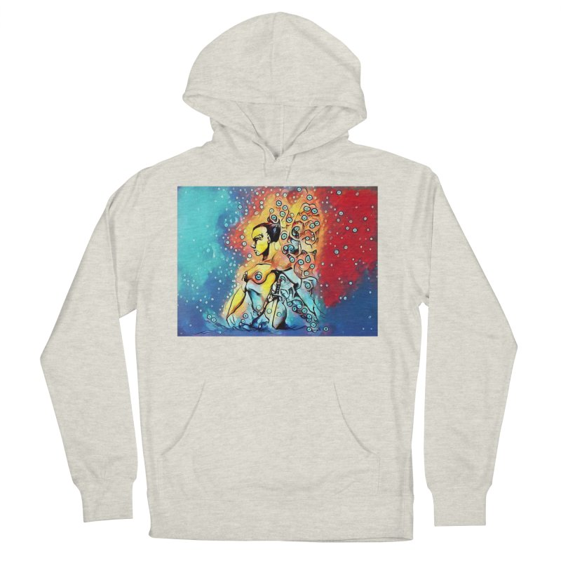 Fairy Warrior Women's French Terry Pullover Hoody by Artdrips's Artist Shop