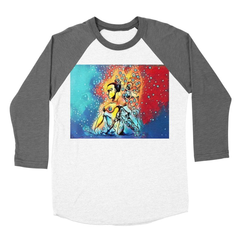 Fairy Warrior Women's Baseball Triblend Longsleeve T-Shirt by Artdrips's Artist Shop