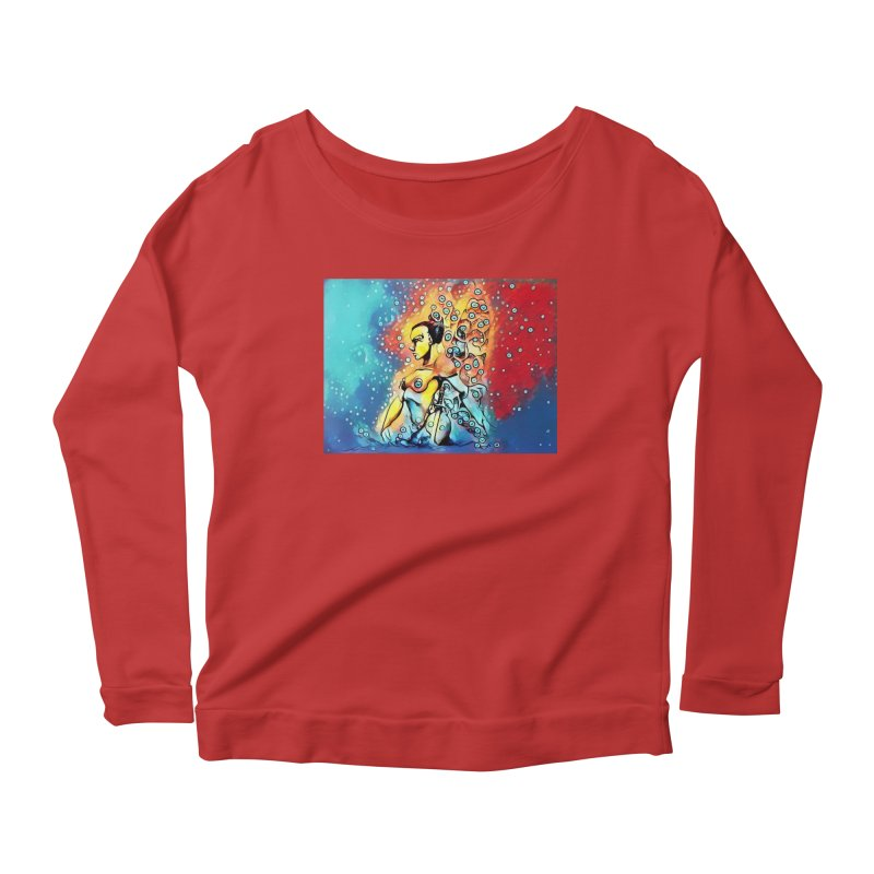 Fairy Warrior Women's Scoop Neck Longsleeve T-Shirt by Artdrips's Artist Shop