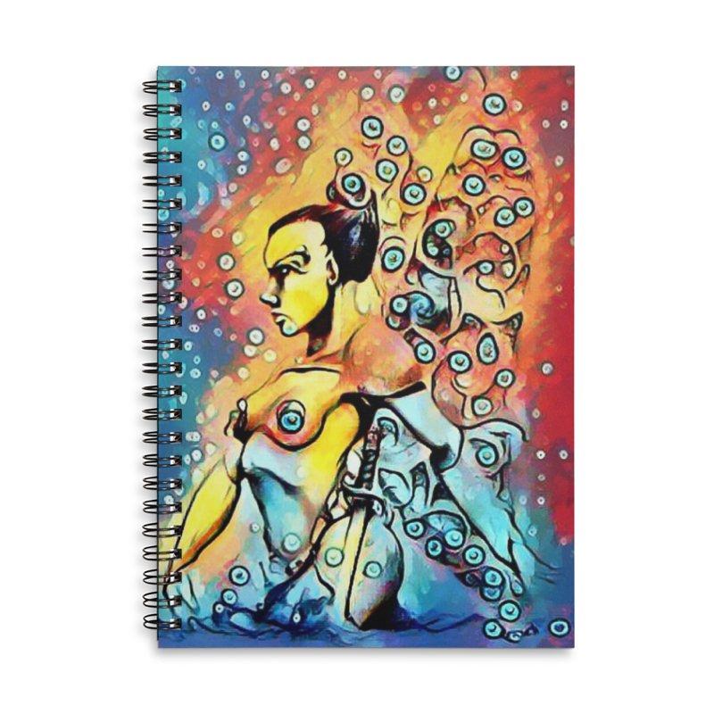 Fairy Warrior Accessories Notebook by Artdrips's Artist Shop