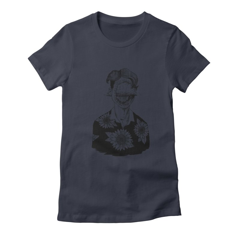 Storms Women's Fitted T-Shirt by artelf's Artist Shop
