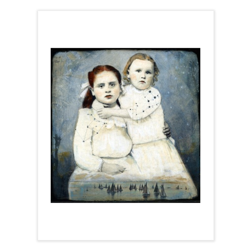 Cassiopeia and Her Sister - Tricia Scott Home Fine Art Print by Artemis Journal's Artist Shop