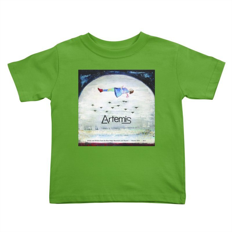 2017 ARTEMIS COVER ART Kids Toddler T-Shirt by Artemis Journal's Artist Shop