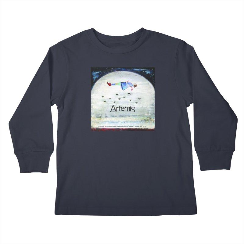 2017 ARTEMIS COVER ART Kids Longsleeve T-Shirt by Artemis Journal's Artist Shop